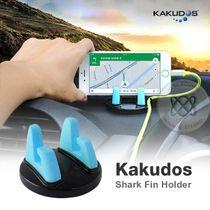 Kakudos Shark Fin Holder ที่ตั้งมือถืออเนกประสงค์ สีฟ้า