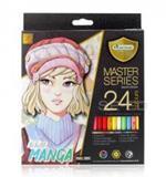 สีไม้ มาสเตอร์อาร์ต มาสเตอร์ซีรีส์ 24 สี Manga