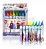 สีเทียนเอ็กตร้าจัมโบ้ 8 สี โฟรเซ่น ดิสนีย์ EXJ008-FZ : Disney/Crayons/Frozen