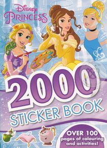 Disney Princess 2000 Stickers Book