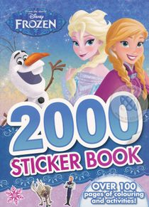 Disney Frozen 2000 Sticker Book