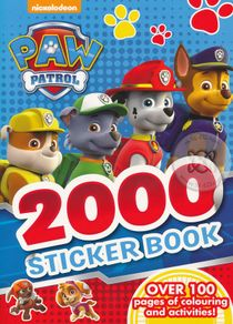 Paw Patrol 2000 Sticker Book