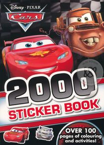 Disney Pixar Cars : 2000 Sticker Book