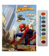 Spider-Man พลังอันยิ่งใหญ่ของสไปเดอร์แมน ระบายสีตามตัวเลข +สีน้ำ