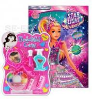 นิทานและระบายสีสองภาษา Barbie Star Light Adventure ภารกิจกอบกู้ดวงดาว Twinkle & Twirl +ชุดของเล่นเสริมสวย