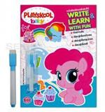 Playskool Baby my Little Pony หนังสือเขียนแล้วลบได้ Write & Learn With Fun