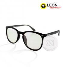 แว่นถนอมสายตา กรอบดำ-ขาเทา : Eye Relax COMN-V2056
