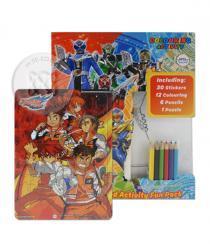 มาสค์ไรเดอร์ วิซาร์ด : Coloring And Activity Fun Pack