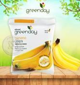 กรีนเดย์กล้วยหอมกรอบ 50 กรัม : Greenday Banana Chips