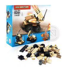 ตัวต่อเลโก้มินิ 3in1 คละแบบ (รถถัง) : No.8281