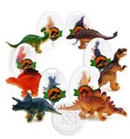Dinosaurus ฟักไข่ 6 ใบ คละแบบ : No.SY9606