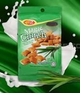 วินทู ซีเรียลสอดไส้ รสใบเตย : Win2 Magic Crunch Pandan Flavour