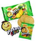 วินทู ขนมปังมันฝรั่งอบกรอบ รสผัก : Baked Potato Crisp Vegetable Flavour