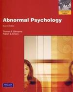 Abnormal Psychology 7ED (P)