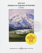Statistics for Engineers and Scientists 4ED (P)