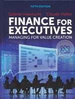 Finance for Executives : Managing for Value Creation 5ED (H) (ปกแข็ง)